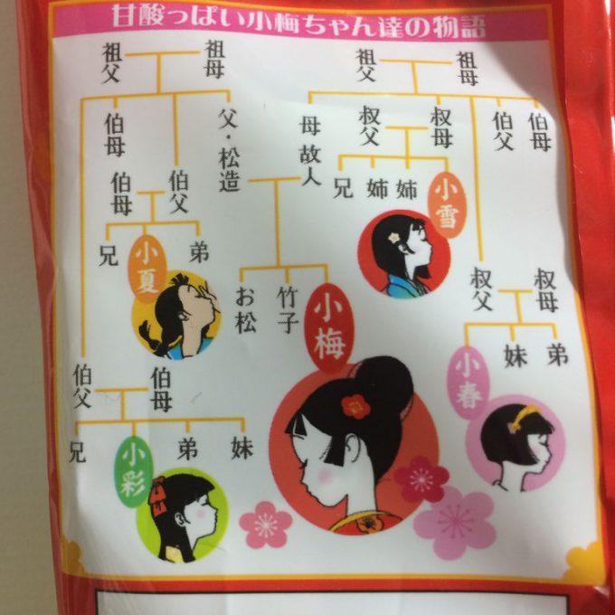 小梅ちゃん家系図
