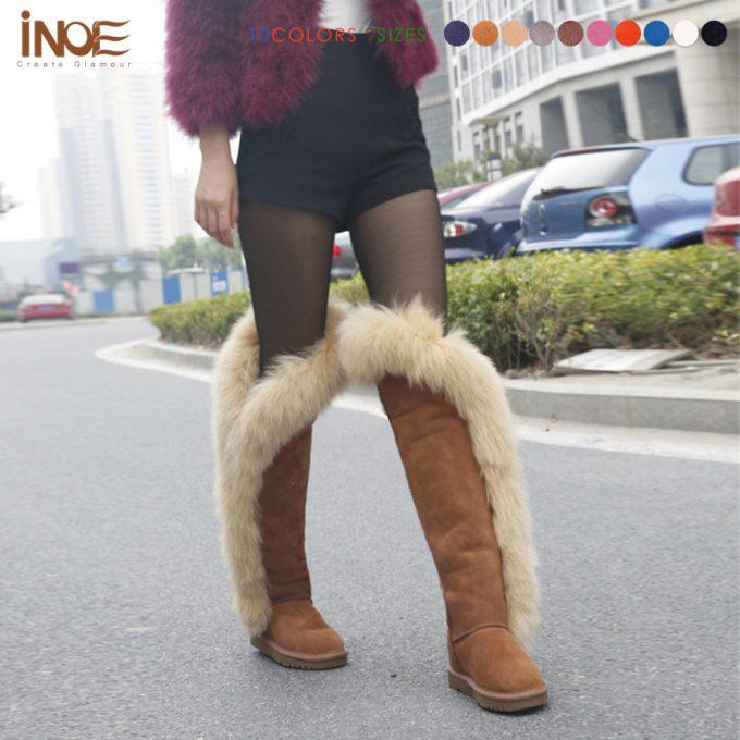 斬新なファッション! 中国靴メーカー『iNOE』のファー付きブーツ(笑)beauty_0155