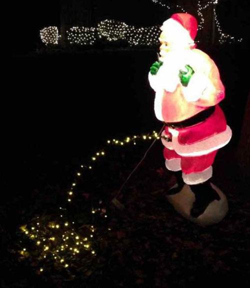 下品! クリスマスにぴったり?なサンタイルミネーション(笑)christmas_0118