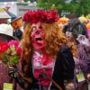 キモ怖! 川崎ハロウィン2011パレードで見かけた特殊メイクのゾンビ伯爵夫人が怖すぎます(笑)