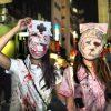怖い! 病気になっても絶対に看護されたくない看護師たちを渋谷ハロウィンで発見(笑)