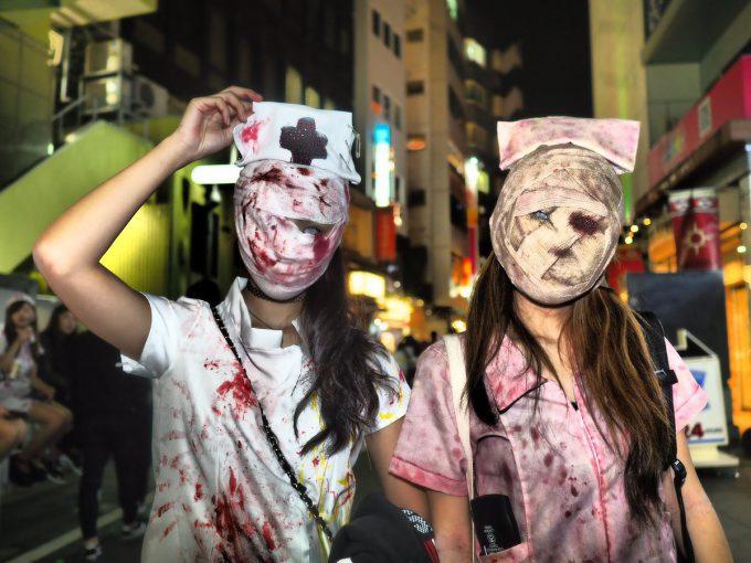 怖い! 病気になっても絶対に看護されたくない看護師たちを渋谷ハロウィンで発見(笑)halloween_0126