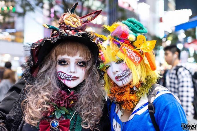 意味不明・・だけどなんだか芸術的に見えるゴスロリ仮装が渋谷ハロウィン2012に出現(笑)halloween_0146