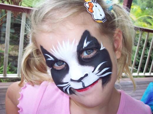 ニャー! 外国人の子どものハロウィンキャットメイクがかわいい(笑)halloween_0192