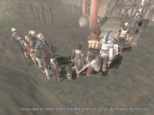 礼儀正しい! MMOオンラインゲーム内でも列を作って順番を待つプレイヤーたち(笑)internet_0016_02