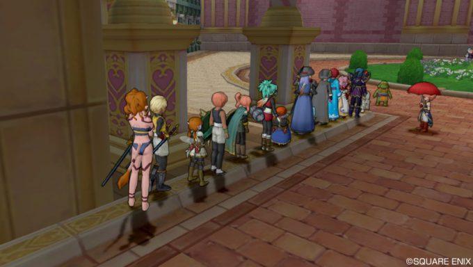 礼儀正しい! MMOオンラインゲーム内でも列を作って順番を待つプレイヤーたち(笑)internet_0016_06