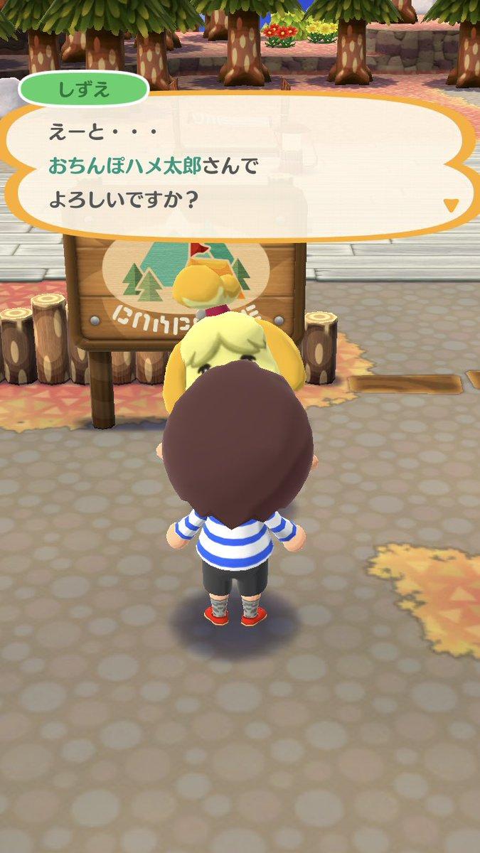 え? スマホアプリ『どうぶつの森 ポケットキャンプ』で登録できるプレイヤーの名前に矛盾(笑)animanga_0279a_03