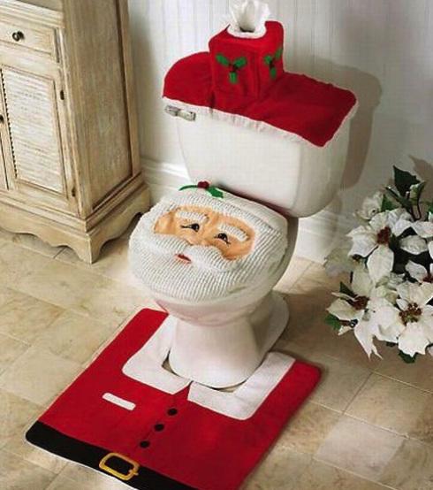 なんだか用を足しづらいクリスマスにぴったりなサンタデザインのトイレ(笑)christmas_0064