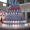 圧巻! シンガポールの商業施設「ワン・ラッフルズ・プレイス」に設置されたドラえもんツリー(笑)