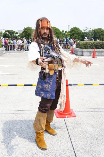 そっくり! コミケに現れた『パイレーツ・オブ・カビリアン』のジャック・スパロウコスプレが完全に本人(笑)cosplay_0023_02