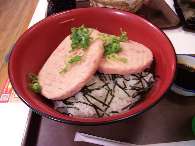【食べ物おもしろ画像】フリスビー? 食べる気なくす「すき家」のまぐろたたき丼(笑)food_0117