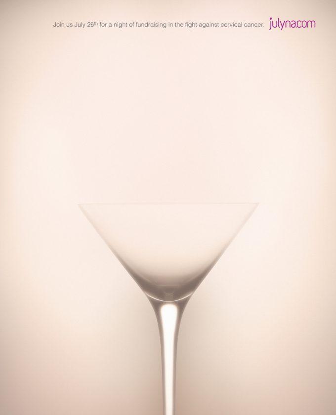 何に見える? 子宮頸がんと資金調達チャリティーイベント広告のうまい表現(笑)