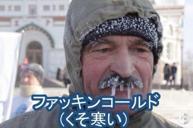 髭が氷柱に! 見てるだけで寒くなるロシアの様子(笑)tvmovie_0150