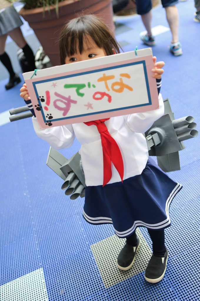【コミケおもしろコスプレ画像】これは反則! コミケ90で見かけた『艦これ』の電コスプレイヤーが最高にかわいい(笑)cosplay_0016_02
