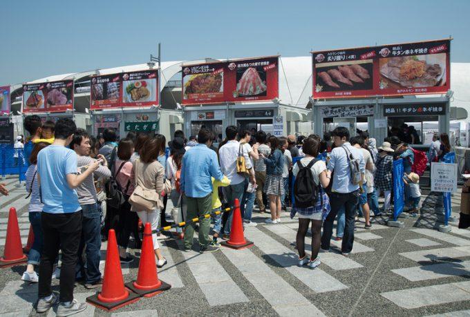 肉フェスの様子food_0123_02