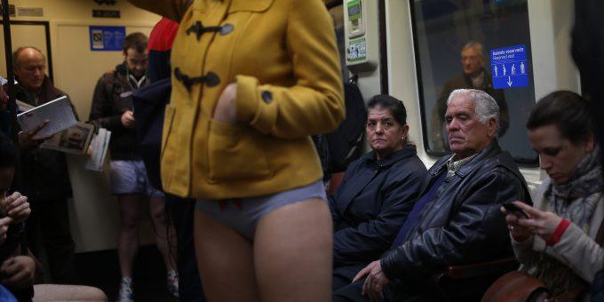 ノーパンツサブウェイライド(No Pants Subway Ride)foreign_0125_15