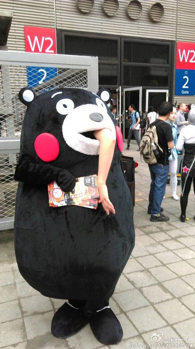 人喰い! 中国に現れたパクりくまモンが人を丸呑みしていてヤバい(笑)livingdoll_0011