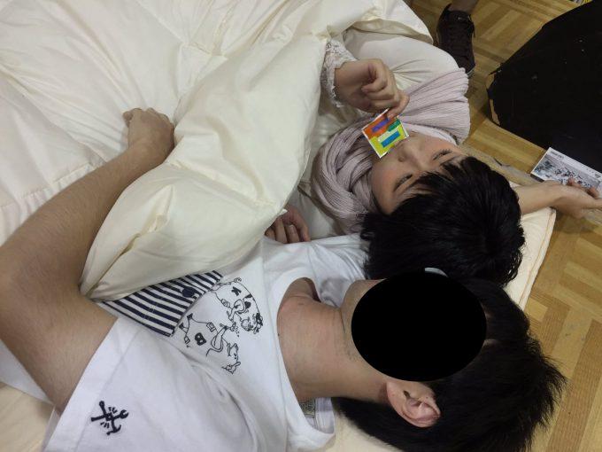 異常! 女性アイドルグループ「Hauptharmonie(ハウプトハルモニー)」のイベント『ベッド・イン(添い寝)会』(笑)talent_0119_01