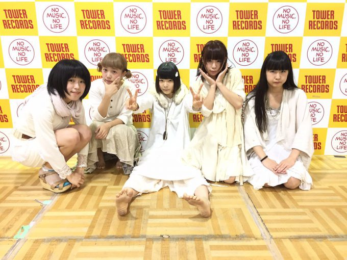 Hauptharmonie(ハウプトハルモニー)のタワレコ新宿ミニライブ&特典会talent_0119_20