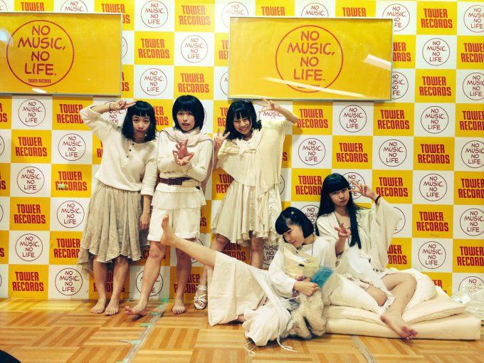 Hauptharmonie(ハウプトハルモニー)のタワレコ新宿ミニライブ&特典会talent_0119_21