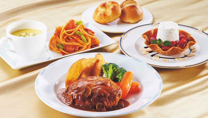 名探偵コナン・ミステリー・レストランの子供のお客様Menu贅沢イタリアン・キッズコース
