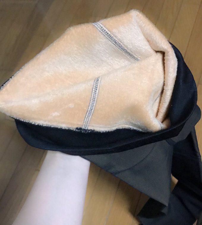 1200デニール? 北海道に住む女子高生 夜道雪オススメの温かすぎる黒タイツ(笑)
