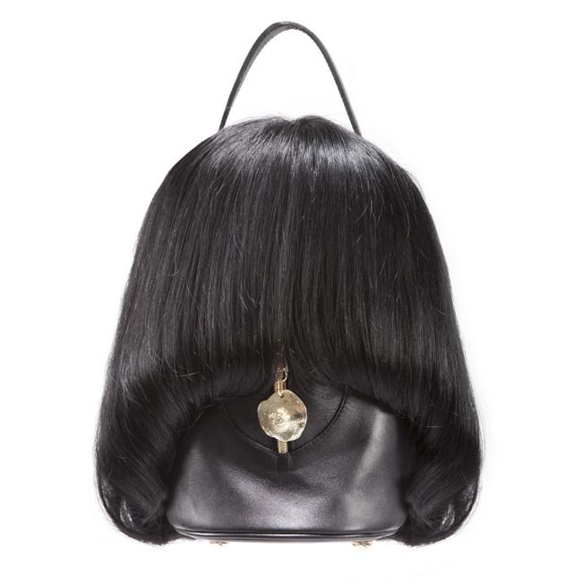 怖! 海外デザイナーによるボブヘアウィッグ型バッグ『WIG BAG』が気持ち悪い笑beauty_0175