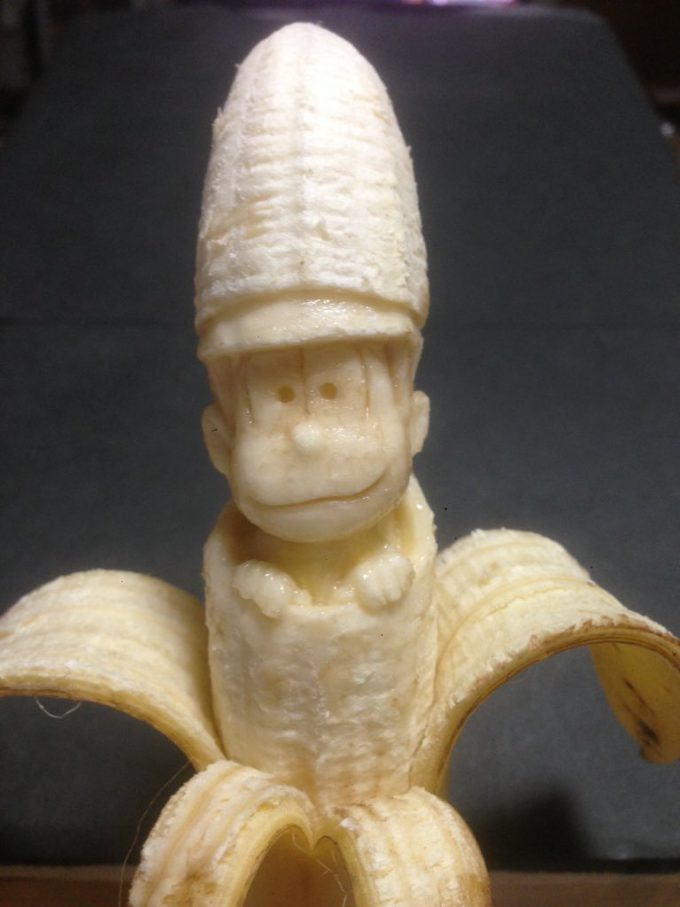 芸術! バナナ彫刻職人が制作したおそ松さんのクオリティが凄い(笑)food_0128