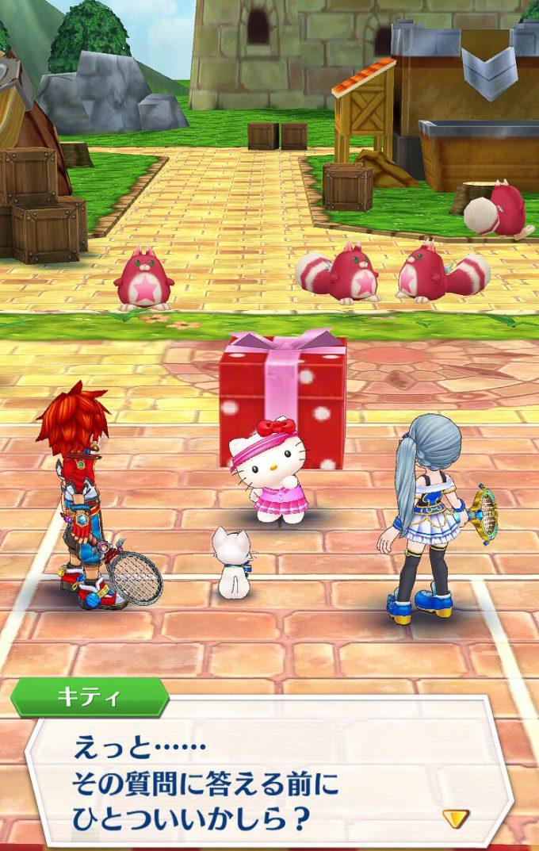 キティさん! 『白猫テニス』に参戦したハローキティがキツい(笑)game_0024_01