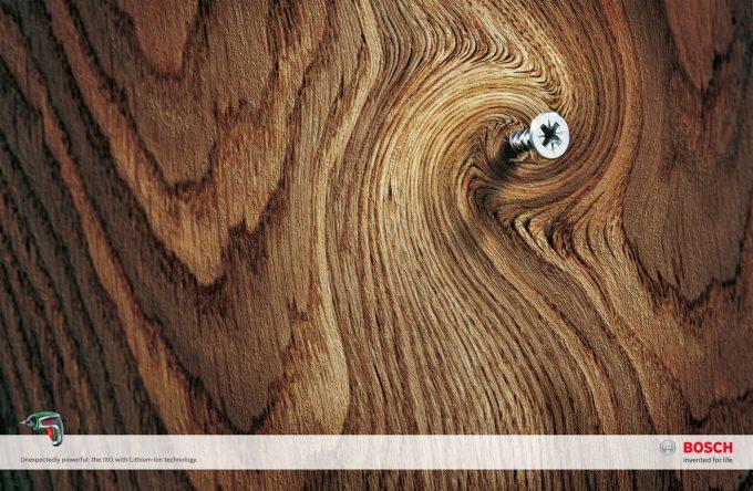 捻じれる! ドイツの電動工具メーカー『ロバート・ボッシュ(Robert Bosch )』の広告がおもしろい(笑)adsign_0098