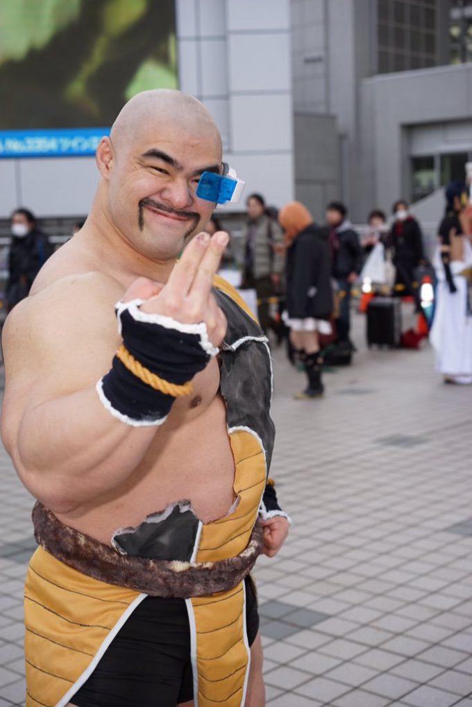 ムキムキ! 2016冬コミで見かけた『ドラゴンボール』ナッパのコスプレ再現度が高すぎ(笑)cosplay_0011