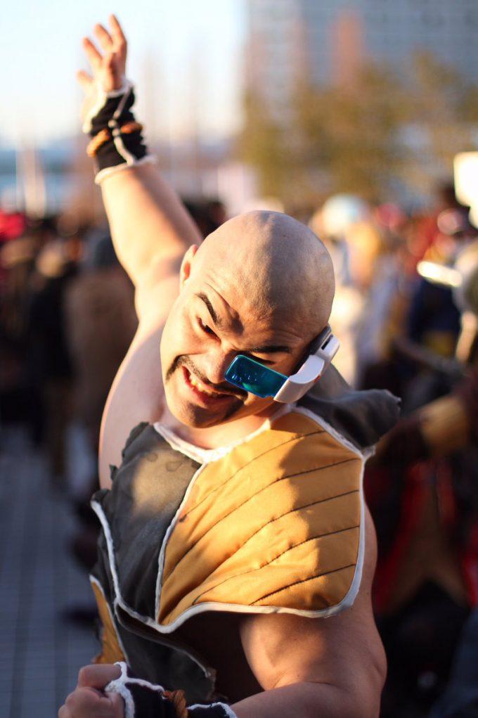 【コミケおもしろコスプレ画像】2016冬コミで見かけた『ドラゴンボール』ナッパのコスプレ再現度が高すぎ(笑)cosplay_0011_02