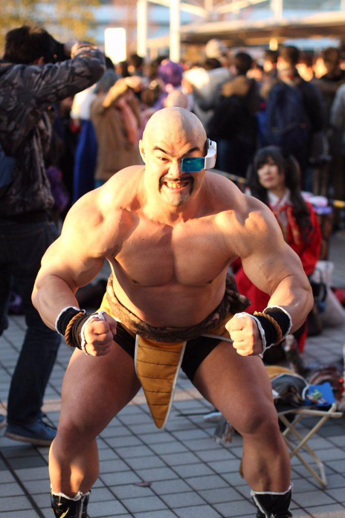 ムキムキ! 2016冬コミで見かけた『ドラゴンボール』ナッパのコスプレ再現度が高すぎ(笑)cosplay_0011_05