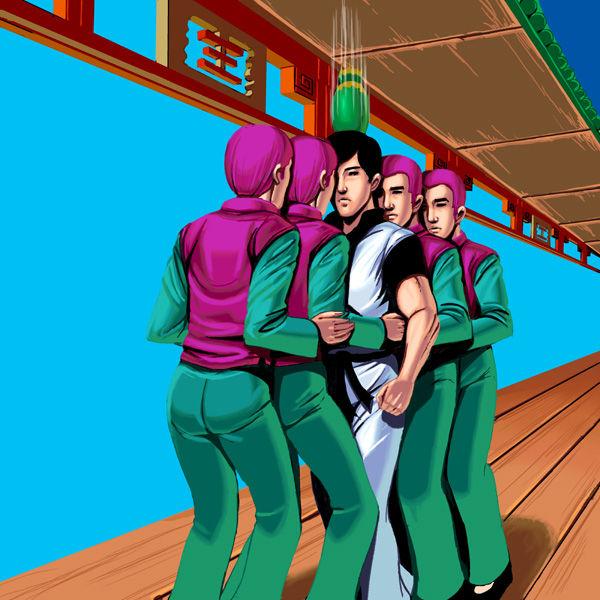 ズンズン! ファミコンゲーム『スパルタンX』で敵を倒さなかったらこうなった(笑)game_0023