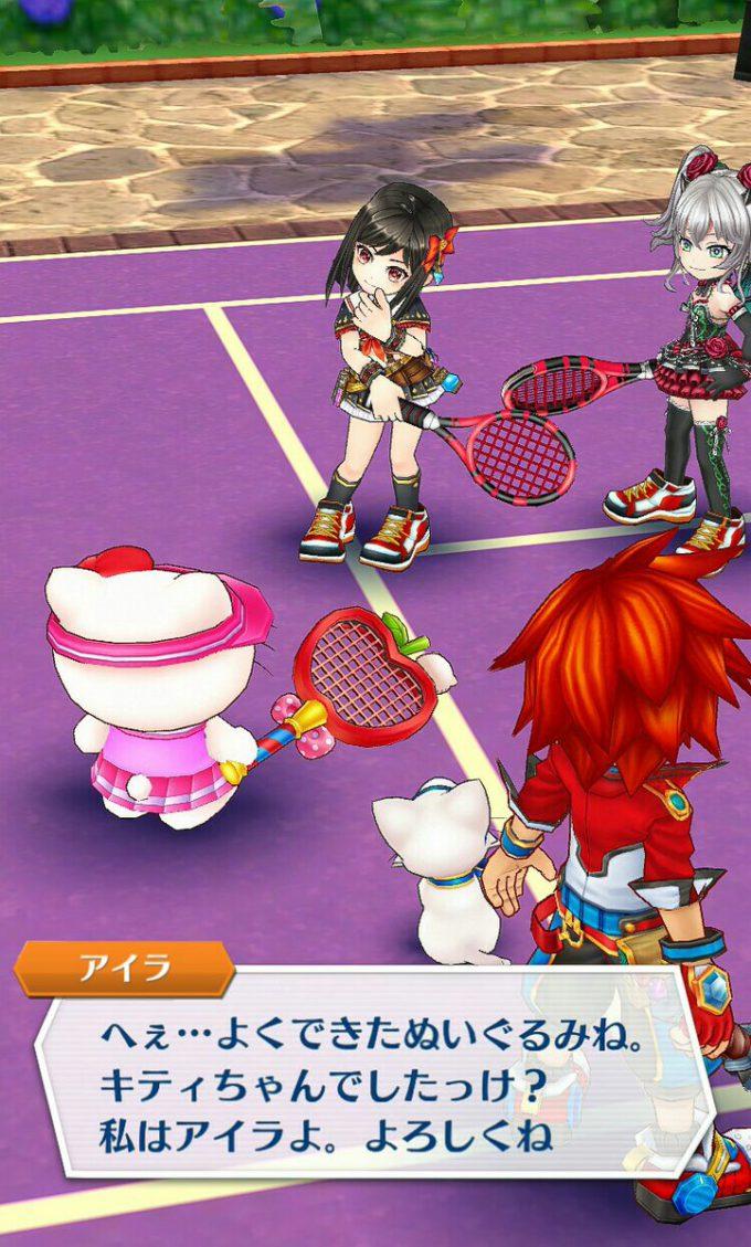キティさん! 『白猫テニス』に参戦したハローキティがキツい(笑)game_0024_03
