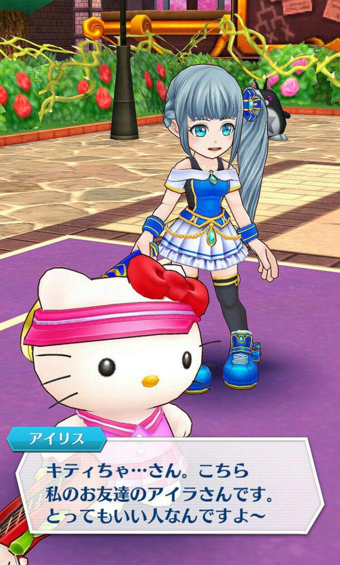 キティさん! 『白猫テニス』に参戦したハローキティがキツい(笑)game_0024_04