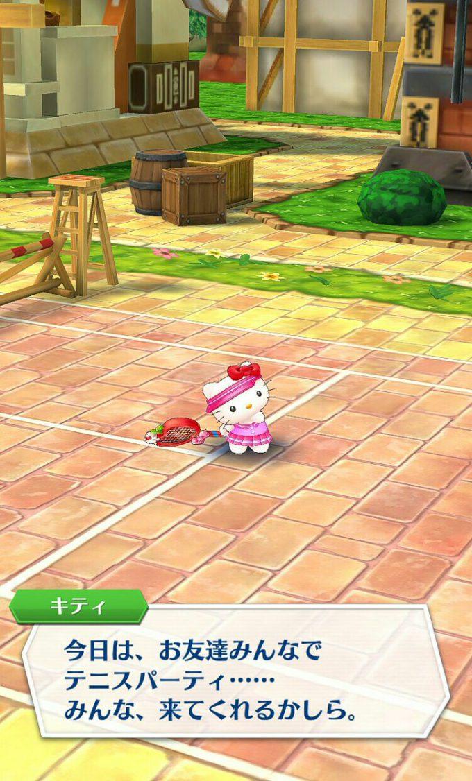 キティさん! 『白猫テニス』に参戦したハローキティがキツい(笑)game_0024_07
