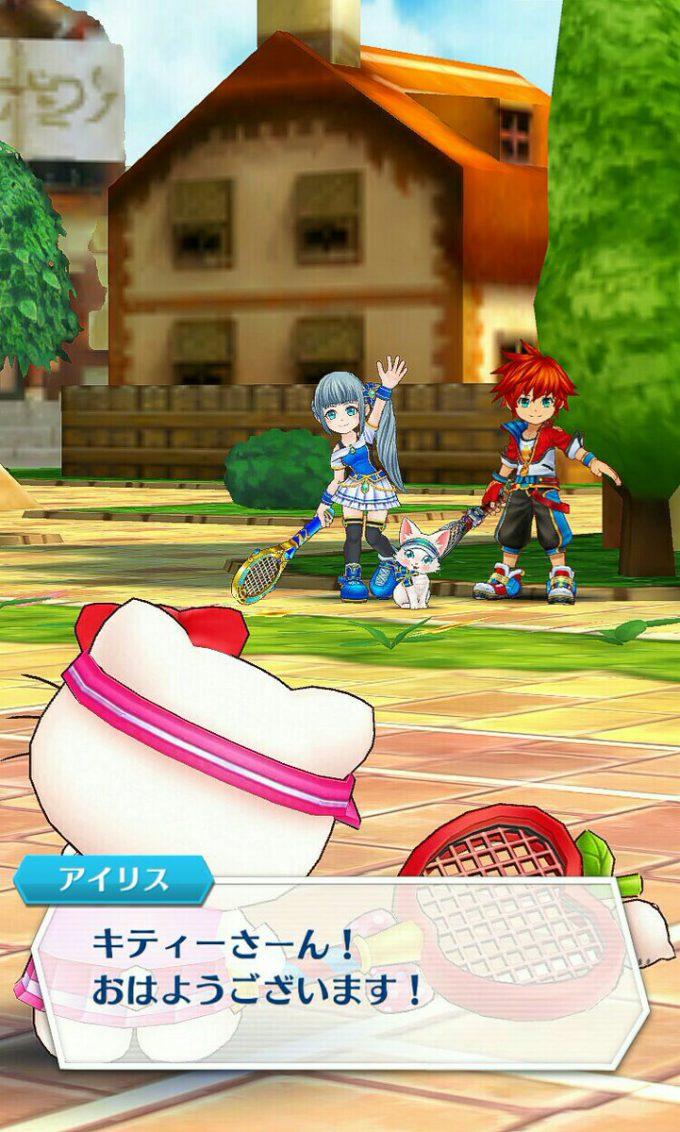 キティさん! 『白猫テニス』に参戦したハローキティがキツい(笑)game_0024_08