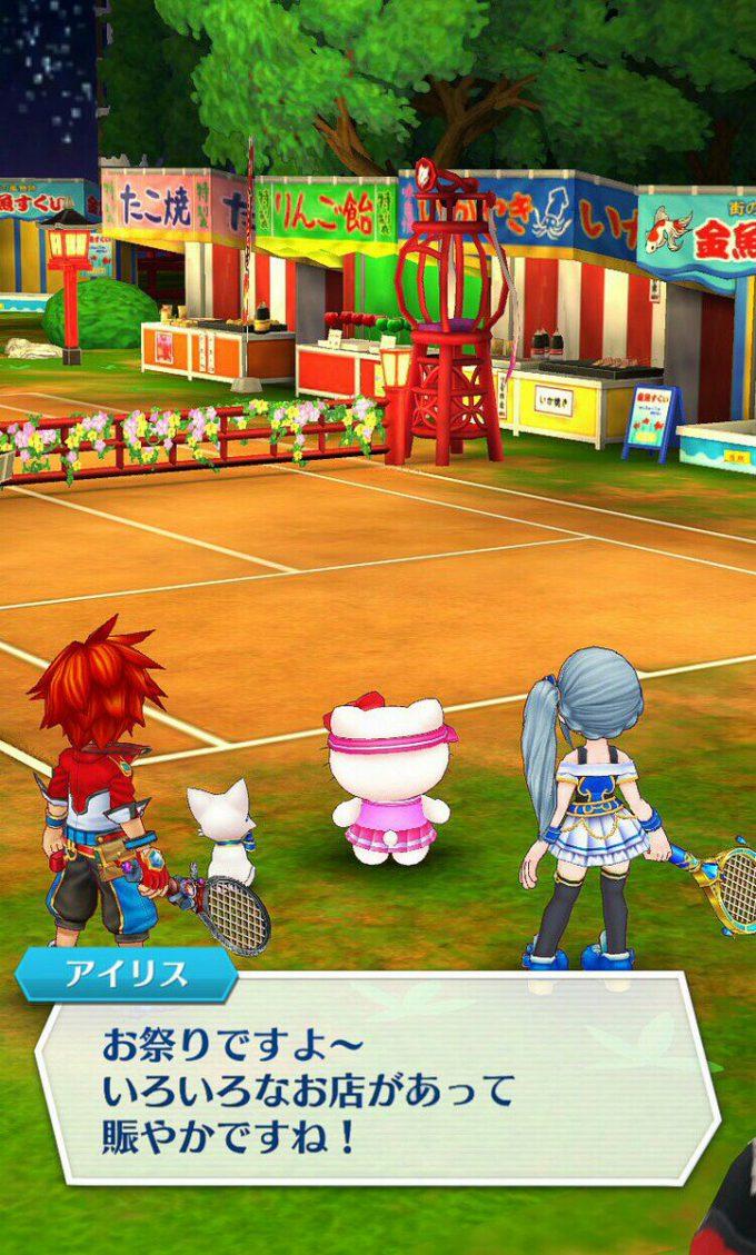 キティさん! 『白猫テニス』に参戦したハローキティがキツい(笑)game_0024_11