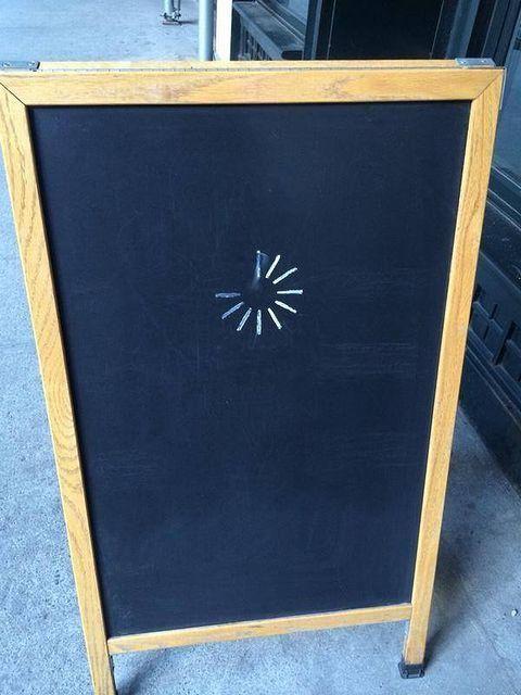【看板おもしろ画像】発想がおもしろい準備中のお店の看板(笑)adsign_0101