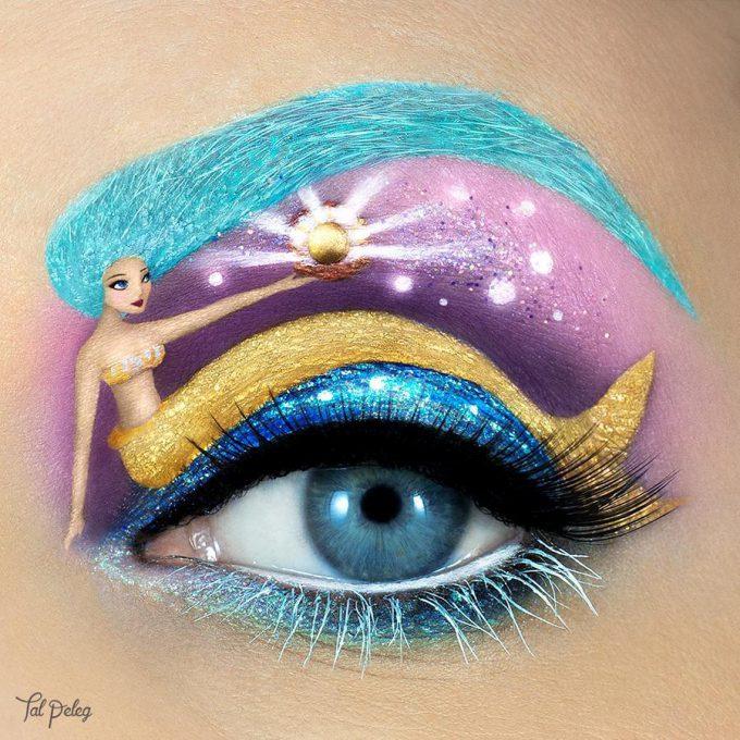 イスラエルのビジュアルアーティストTal Pelegさんのアイメイクbeauty_0131_02