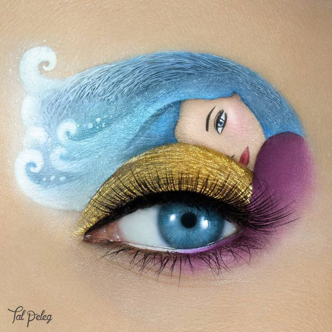 イスラエルのビジュアルアーティストTal Pelegさんのアイメイクbeauty_0131_03