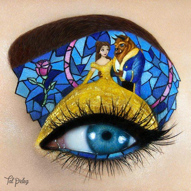 イスラエルのビジュアルアーティストTal Pelegさんのアイメイクbeauty_0131_04