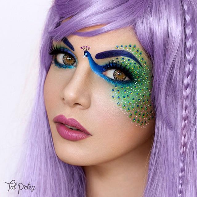 イスラエルのビジュアルアーティストTal Pelegさんのアイメイクbeauty_0131_05