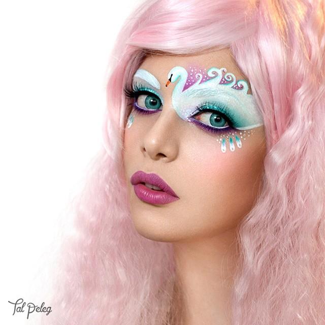 イスラエルのビジュアルアーティストTal Pelegさんのアイメイクbeauty_0131_06