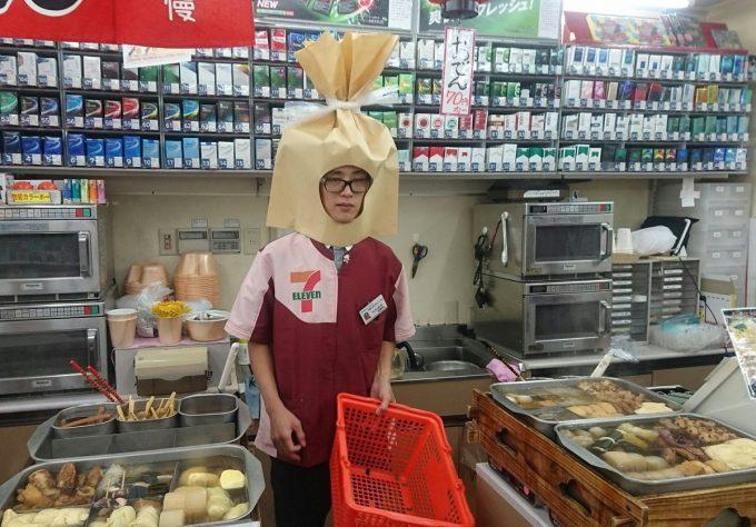 シュール! ムサコのセブンイレブンで盛り上がりに欠けるおでんセールでとった秘策(笑)food_0127