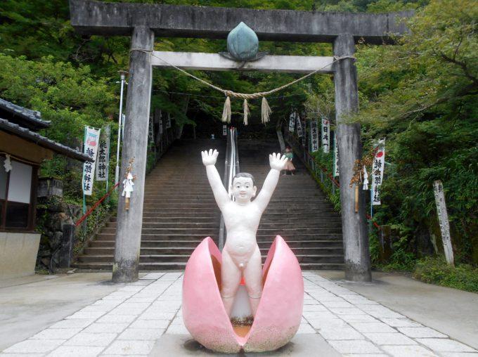 愛知県犬山市の桃太郎神社にあるコンクリート彫刻photo_0018_02