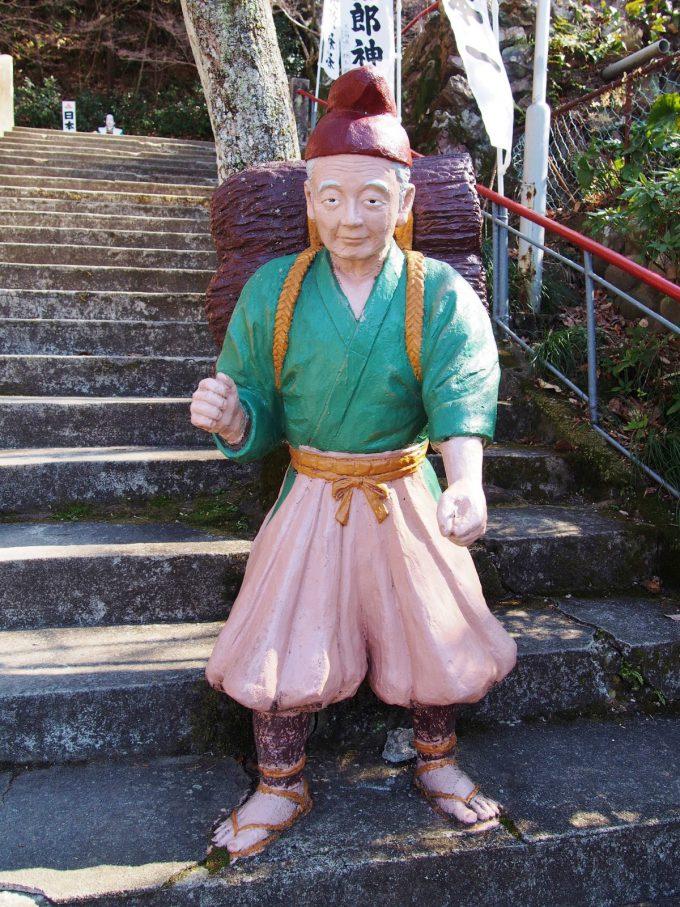愛知県犬山市の桃太郎神社にあるコンクリート彫刻photo_0018_04