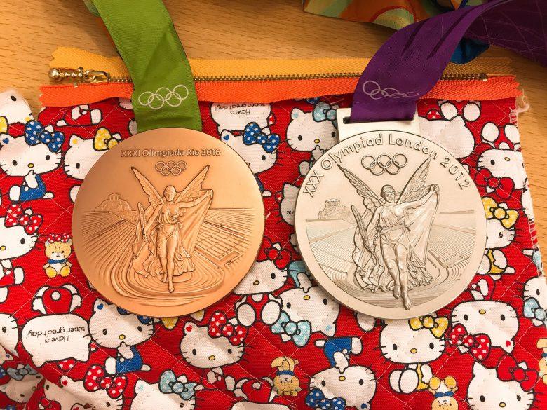福原愛のオリンピックメダル