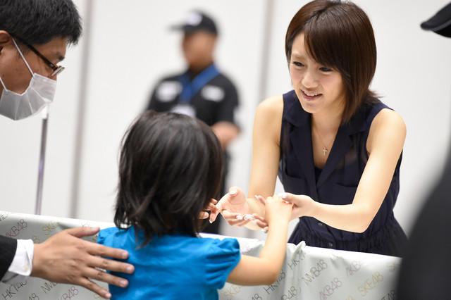 AKB48『前しか向かねえ』劇場盤発売記念大握手会